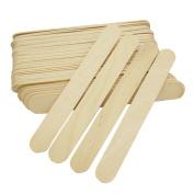 Le Fu Li 100 Pcs Wax Applicator Sticks Large