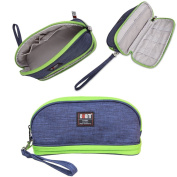 BUBM Cosmetic Make Up Organiser Bag, Travel Compact Pouch With Handle Wrist, Perfect Size For On The Go