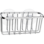 Kitchen Details Chrome-Wire Sink Caddy, Compact