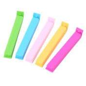 ACEHE 5pcs Food Snack Storage Seal Sealing Bag Clips Sealer Clamp Plastic Tool