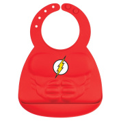 Bumkins Flash Silicone Muscle Bib, Red, 6-24 months