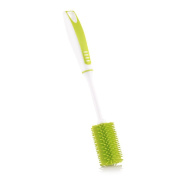 Guerbrilla Cup brush Bottle Brush with Nipple Cleaner, Green