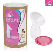 Miloo Silicone Breastfeeding Manual Breast Pumps Milk Pump Suction