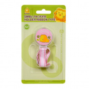 Simba Pacifier Holder Ribbon Type Pink