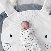Children's Place Mats Baby Kids Comfort Mats Animal Cartoon Floor Mats Soft Blankets Pads Crib Bedding Room Decoration Play Mat