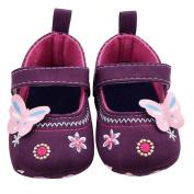 KuoShun Baby Girl Soft Sole Butterfly Shoes Prewalker Sneakers