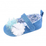 KuoShun Girls Prewalker Toddler Cute Flower Bowtie Antiskid Shoes Sneaker