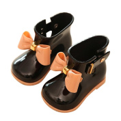 Baby Jelly Shoes,Besde Cute Girl Shoes Children Bow Rain Boot
