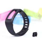 HopCentury Replacement Garmin Vivofit Band Strap Wristband Accessory with Fastener Clasp for Garmin Vivofit - Small or Large Size