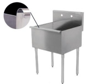 Universal BS1818-1 - One Compartment Sink - 46cm