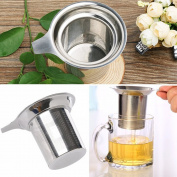 HUELE 2PCS Stainless Steel Mesh Tea Infuser Reusable Strainer Loose Tea Leaf Spice Filter