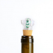Lixada LED Diamond Shape Wine Bottle Cap Light USB Charging Seven Colours Cork Rechargeable Lamp