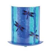 G.W. Schleidt GF528 Glass Fusion Accent Lamp Dragonflies, Blue