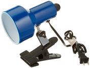 Lite Source LSF-114BLU Clip-on II Clip-on Lite with Blue Shade