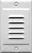 NICOR Lighting STP-10-120-WH LED Step with Vertical Faceplate