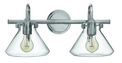Hinkley Lighting 50026CM Congress 2-Light Bath Vanity