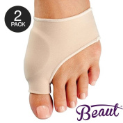 Bunion Corrector - Bunion Toe Straightener and Bunion Relief Detox Sleeve Bunion Pad with EuroNatural Gel - Orthopaedic Bunion Corrector and Metatarsal Pad for Hammertoe and Hallux Valgus