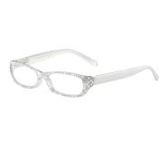 I Heart Eyewear Frost Sparkle Reading Glasses, +2.25