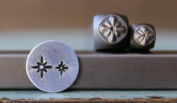Brand New 2 Stamp (5mm and 3mm) Twinkle Star Metal Punch Design Stamp Set - Supply Guy - CH-158159