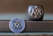 8mm Adoption Symbol Metal Punch Design Jewellery Stamp