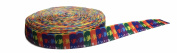 The Beatles Multicoloured 2.5cm Wide Repeat Ribbon Sold in Yard Lots
