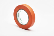 Orange Masking Tape, Large Roll, 2.5cm x 60 Yard, Tape for Art and Craft Projects or Painting