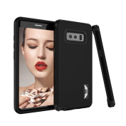 Galaxy Note 8 Case, NOKEA Hybrid Heavy Duty Shockproof Full-Body Protective Case Bumper Cover 3 in 1 Soft TPU Hard PC Dual Layer Impact Protection for Samsung Galaxy Note 8