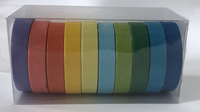 10 rolls pcs Solid Colours washi tape collection Paper Craft Tapes Adhesives