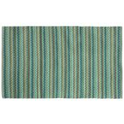 Bacova Guild 18178 Texture Wovens Brenden Teal Reversible Accent Rug, 90cm x 50cm