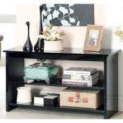 Furniture of America Corzi 2-shelf Side Accent Table White White Finish