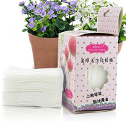 MSmask 100pcs Women's Makeup Cleaning Face Facial Cosmetic Tools Pure Cotton Pads Sheet