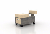 Pedicure Trolley ALERA Pedicure Cart with Foot Rest for Nail Salon and Spa