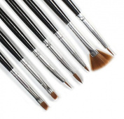 Nail Brush, Hot Selling Nail Art Liner Painting Drawing Pen Brush Brushes Tools BL With Lots 7 Acrylic Design