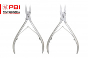 Nail Nipper, Nail Cutter, Nail Plier, Manicure, Pedicure Clippers, Stainless Steel 2 Pieces Set From PBI