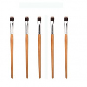 KingYuan Beauty Bamboo Makeup Brushes - Premium Synthetic Hair & Natural Bamboo Handles - Face Powder Brush Makeup Brush Kit