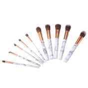 XCSOURCE 10pcs Makeup Brushes Set Professional Cosmetic Kit Powder Foundation Contour Brushes Blusher Eyebrow Brush Tools Kit MT513