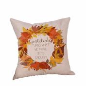 Tsmile Happy Halloween Pillow Cases Linen Sofa Cushion Cover Home Decor