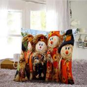 Tsmile Halloween Pillow Sofa Pumpkin ghosts Cushion Cover Home Decor