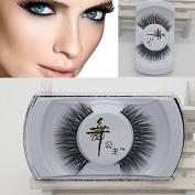 sumanee 100% Black Real Mink Soft Long Natural Thick Makeup Eye Lashes False Eyelashes