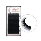 THINKSHOW 4 Trays Eyelash Extensions 0.25mm C/D Curl 8-15mm 3D Blink Lashes Individual Eyelashes Black Natural Handmade Pure Korean Silk False Lashes Salon Use
