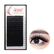 THINKSHOW Eyelash Extensions 0.12mm C/D 4 Trays Curl 8-15mm 3D Blink Lashes Individual Eyelashes Black Natural Handmade Pure Korean Silk False Lashes Salon Use