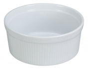 Yanco SF-112 Souffle Bowl, Fluted, 350ml Capacity, 11cm Diameter, 5.7cm Height, Porcelain, Super White, Pack of 24