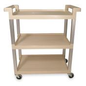 Utility Cart, Open, 45kg Cap, 3 Shelves