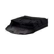 LibertyWare TXTPK4BK Black Pizza Bag 50cm x 50cm x 13cm - 1.3cm High