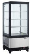 Maxx Cold MECR-31D Countertop 0.08cbm 1 Door LED Lighted Display Refrigerator Merchandiser