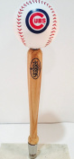 Chicago Cubs Louisville Slugger Baseball Pub Style Beer Tap Handle