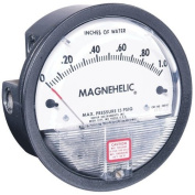 "Dwyer® Magnehelic® Differential Pressure Gauge, 2015D, 0"" - 38cm w.c. & 0-3.73 kPa"
