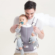 Fresh Shine Baby Carrier Hip Seat, Grey, Perfect for Baby, Toddlers and Infants