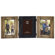 Prinz Woodlands 3 Hinged 10cm x 15cm Frames Brown None