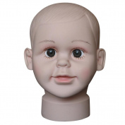 Male Model Mead, Efaster Practical Child Mannequin Manikin Head Model For Wig Hat Mould Show Stand Display